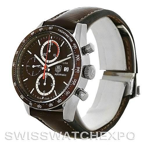 Tag Heuer Carrera Chronograph Automatic Mens Watch CV2013 SwissWatchExpo