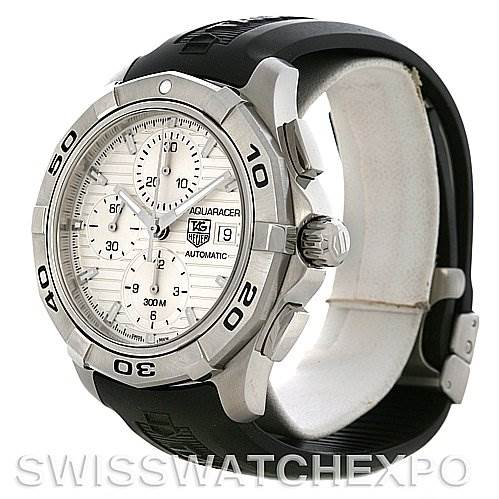 4291 Tag Heuer Aquaracer Chrono Mens Watch CAP2111 FT6026 SwissWatchExpo