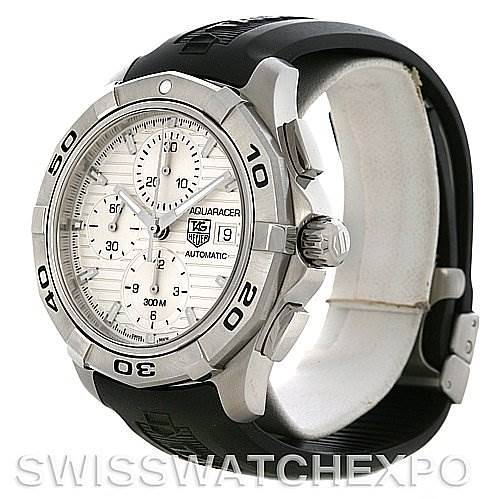 Tag Heuer Aquaracer Chrono Mens Watch CAP2111 FT6026 SwissWatchExpo