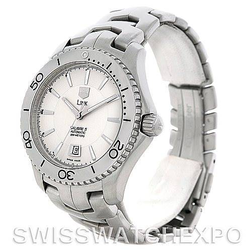 Tag Heuer Link Automatic Silver Dial Men's Watch WJ201B SwissWatchExpo