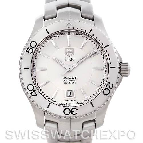 Photo of Tag Heuer Link Automatic Silver Dial Men's Watch WJ201B