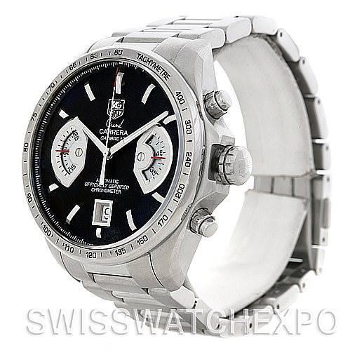 Tag Heuer Grand Carrera Automatic Mens Watch CAV511A.BA0902 SwissWatchExpo