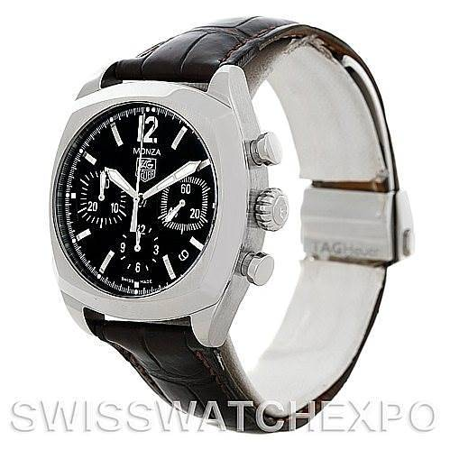Tag Heuer Monza Chronograph Automatic Mens Watch CR2113-0 SwissWatchExpo