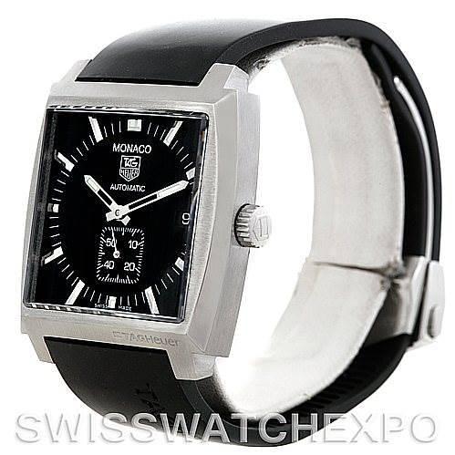 Tag Heuer Monaco Automatic Mens Watch WW2110 SwissWatchExpo
