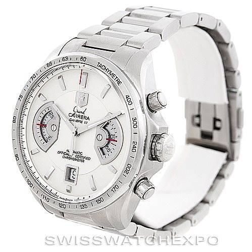 Tag Heuer Grand Carrera Mens Watch CAV511B SwissWatchExpo
