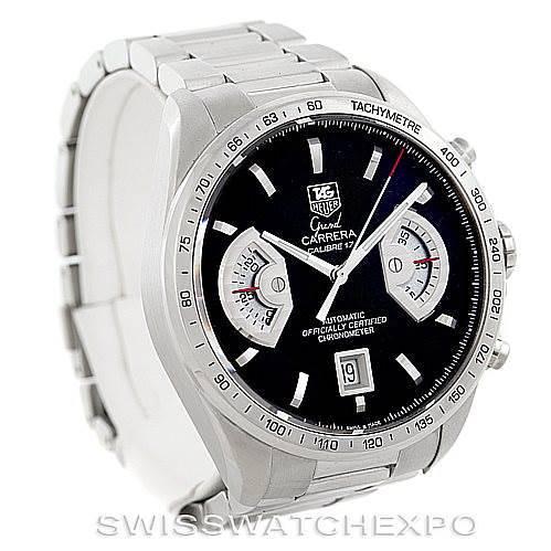 Tag Heuer Grand Carrera Automatic Mens Watch CAV511A SwissWatchExpo