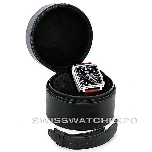 6543 Tag Heuer Monaco Automatic Mens Watch CS2111 SwissWatchExpo