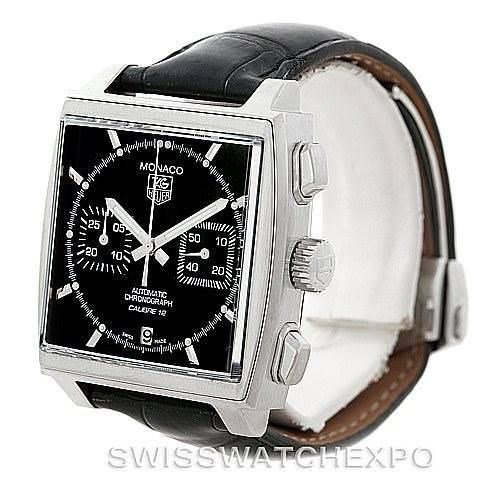 Tag Heuer Monaco Automatic Mens Watch CAW2110 SwissWatchExpo