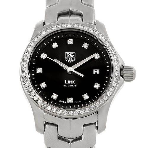 Photo of Tag Heuer Link Steel Diamond Ladies Watch WJF131A.BA0572