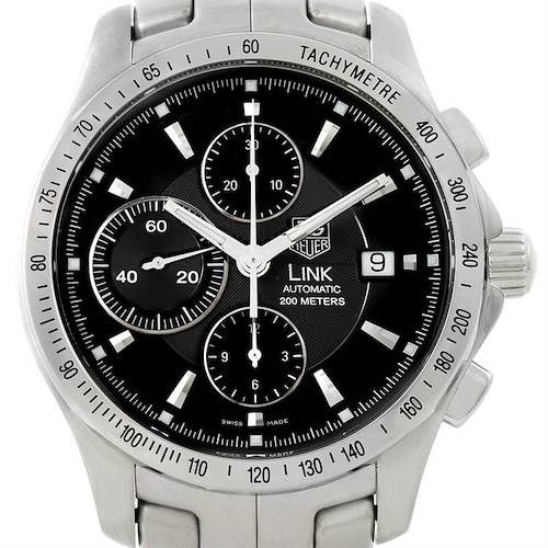 Photo of Tag Heuer Link Chronograph Steel Mens Watch CJF2110