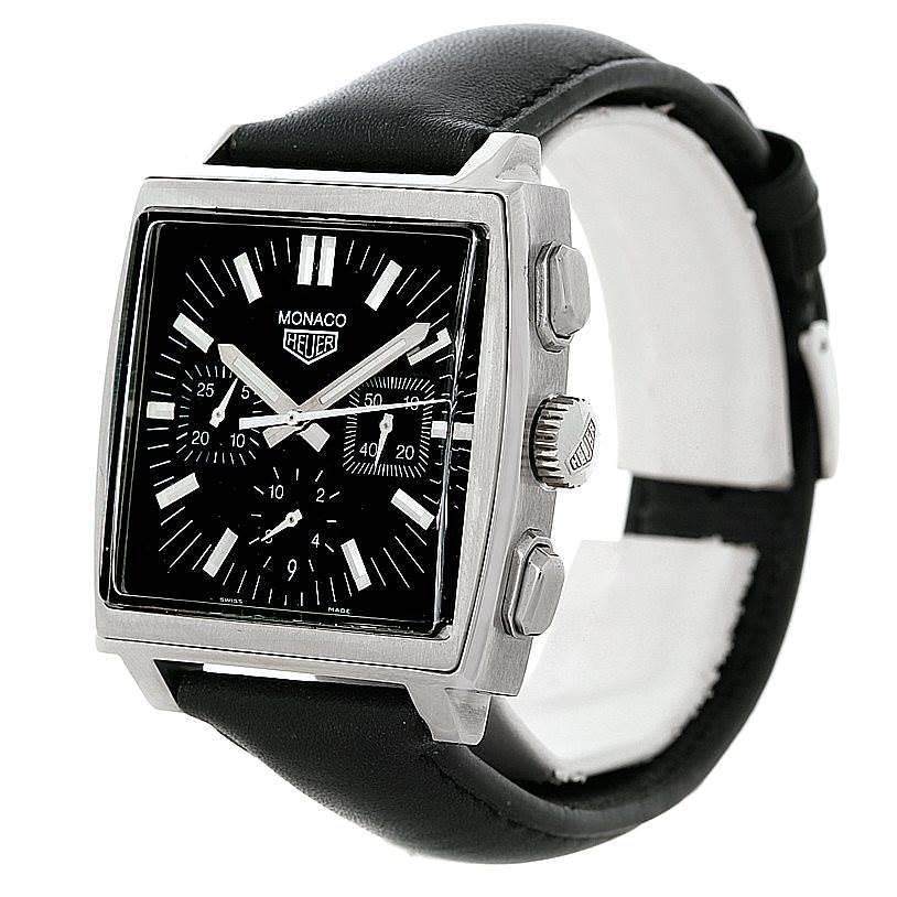 Tag Heuer Monaco Automatic Mens Watch CS2111 SwissWatchExpo