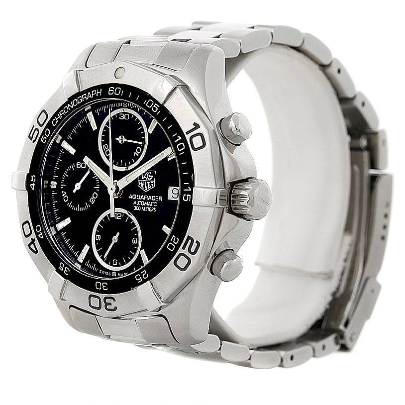 Tag Heuer Aquaracer Chronograph Mens Watch CAF2110 SwissWatchExpo