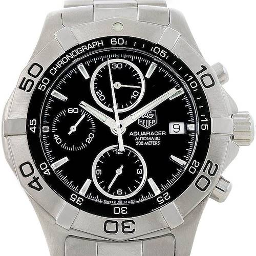 Photo of Tag Heuer Aquaracer Chronograph Mens Watch CAF2110