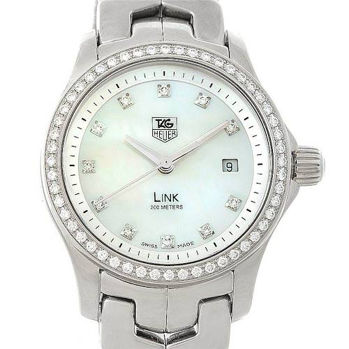 Photo of TAG Heuer Link Steel Diamond Ladies Watch WJF1319