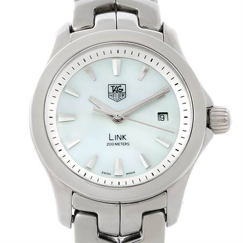 Photo of TAG Heuer Link Steel Mother of Pearl Ladies Watch WJF1310