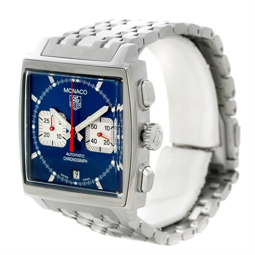 Tag Heuer Monaco Automatic Chronograph Mens Watch CW2113 SwissWatchExpo