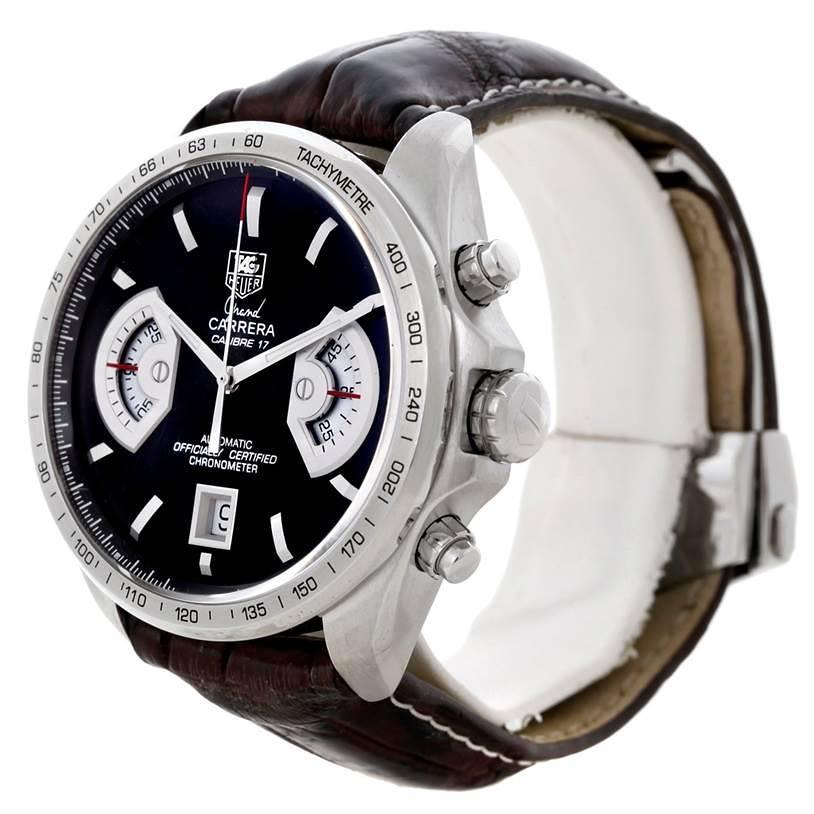 Tag Heuer Grand Carrera Mens Watch CAV511A.FC6225 SwissWatchExpo