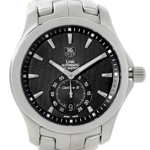 Photo of TAG Heuer Link Steel Black Dial Automatic Mens Watch WJF211A