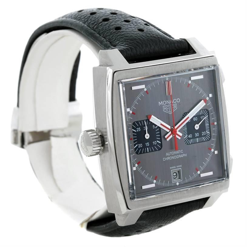 Tag Heuer Monaco Automatic Mens Limited Edition Watch CAW211B Unworn SwissWatchExpo