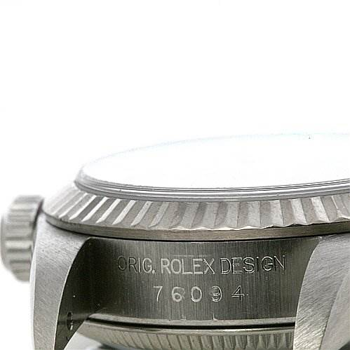 2369 Rolex Oyster Perpetual Ladies Watch 76094  SwissWatchExpo