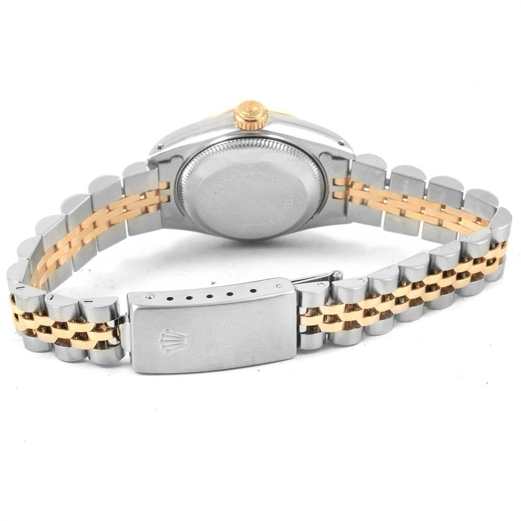 Rolex Datejust 26 Steel Yellow Gold Jubilee Ladies Women Watch 69173 SwissWatchExpo
