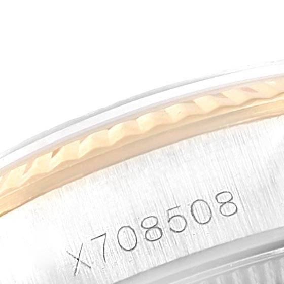 Rolex Oyster Perpetual NonDate Steel Yellow Gold Ladies Watch 67193 SwissWatchExpo