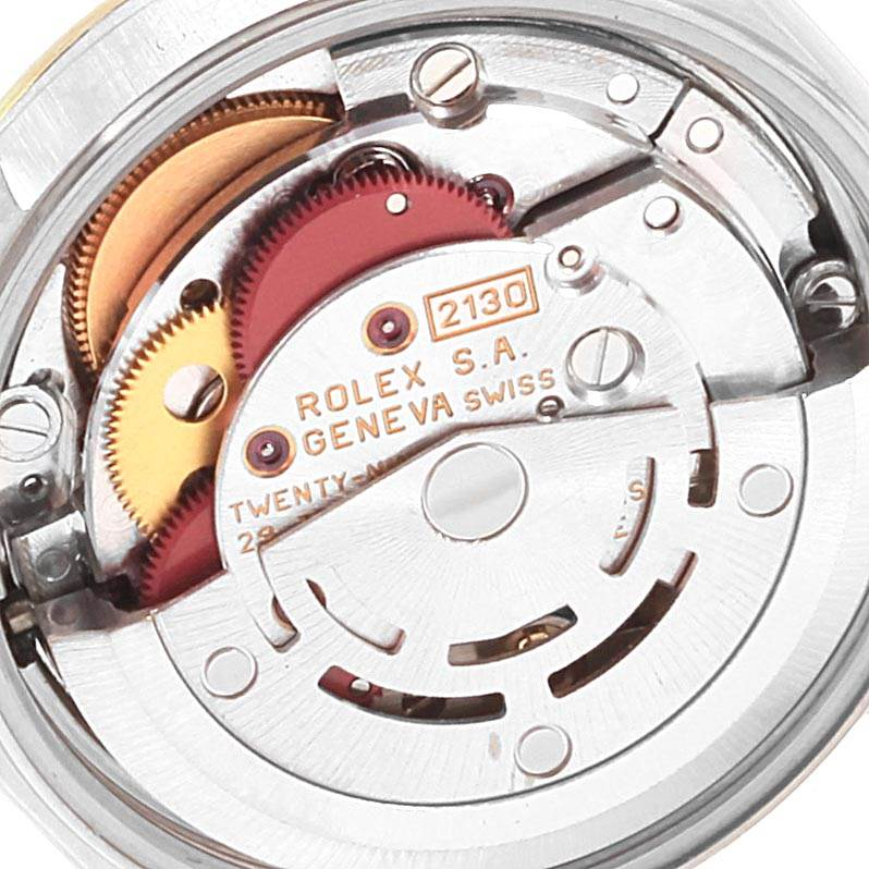 22369 Rolex Oyster Perpetual NonDate Steel Yellow Gold Ladies Watch 67193 SwissWatchExpo