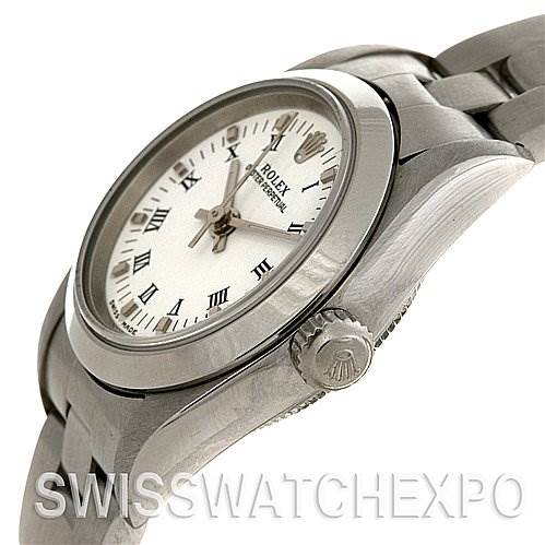 2547 Rolex Oyster Perpetual Ladies SS Watch 76080 yr 2003-04 SwissWatchExpo