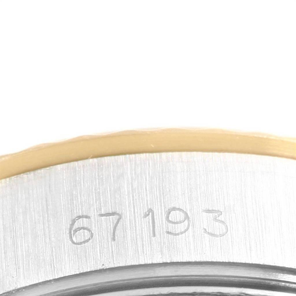 24364 Rolex Oyster Perpetual 24mm Steel Yellow Gold Ladies Watch 67193 SwissWatchExpo