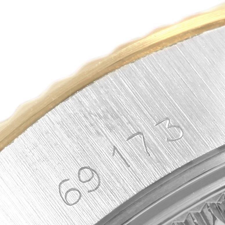 Rolex Datejust Steel Yellow Gold Arabic Numerals Ladies Watch 69173 SwissWatchExpo