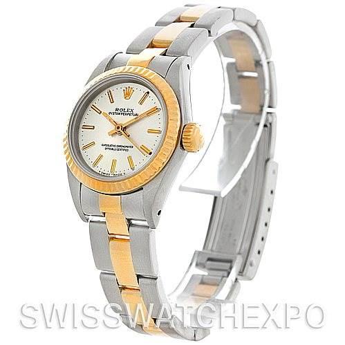 Rolex Non-Date Ladies Steel 18k Yellow Gold 67193 Watch SwissWatchExpo