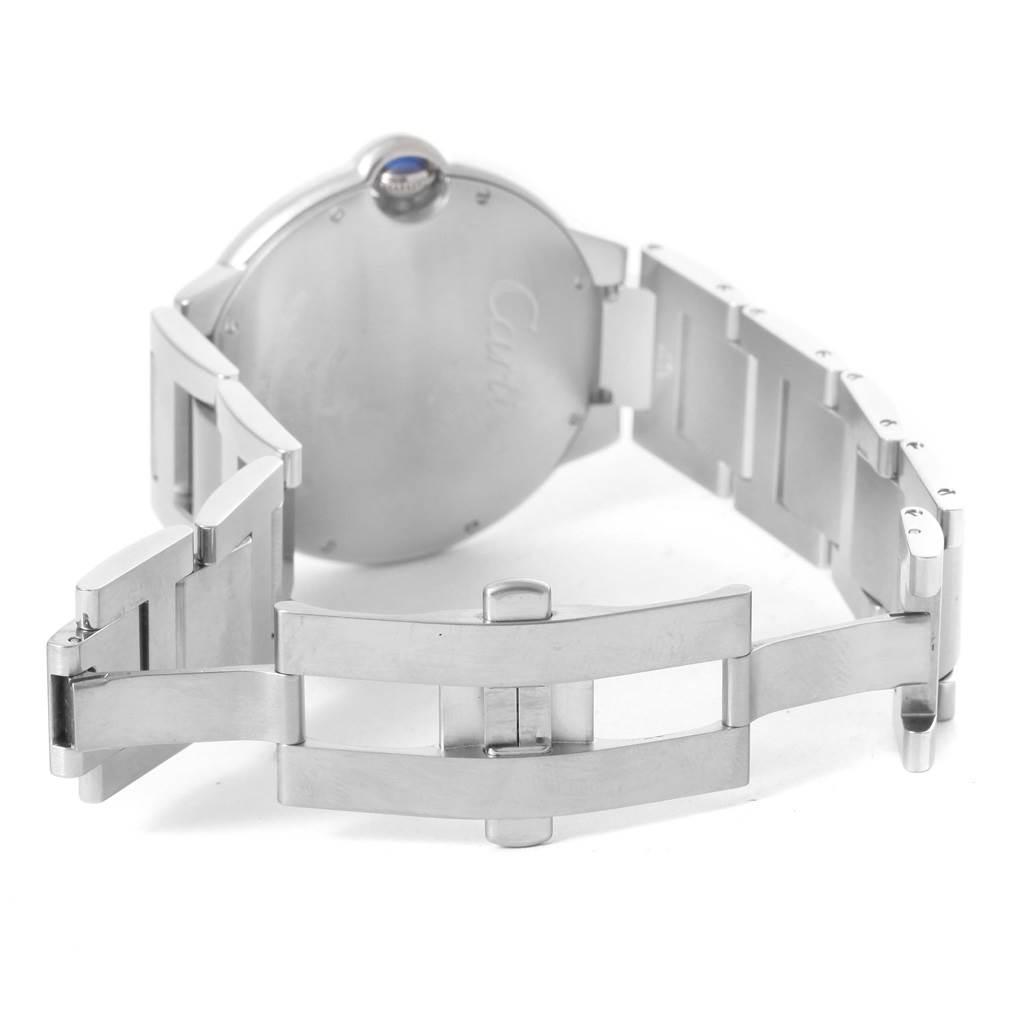 Cartier Ballon Bleu 42mm Stainless Steel Automatic Mens Watch W69012Z4 SwissWatchExpo