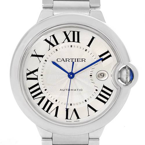 Photo of Cartier Ballon Bleu 42mm Stainless Steel Automatic Mens Watch W69012Z4