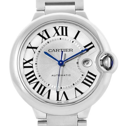 Photo of Cartier Ballon Bleu Mens Stainless Steel Automatic Watch W69012Z4