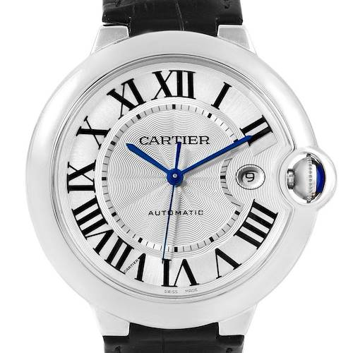 Photo of Cartier Ballon Bleu Mens Stainless Steel Automatic Watch W69016Z4