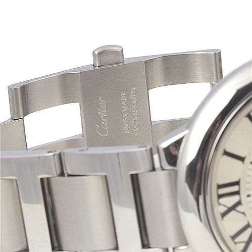 Cartier Ballon Bleu Ss Large Men's Watch W69012z4 SwissWatchExpo