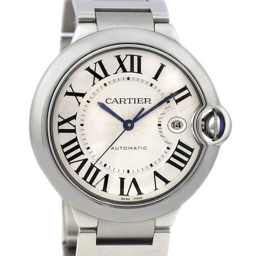 Photo of Cartier Ballon Bleu Ss Large Men's Watch W69012z4