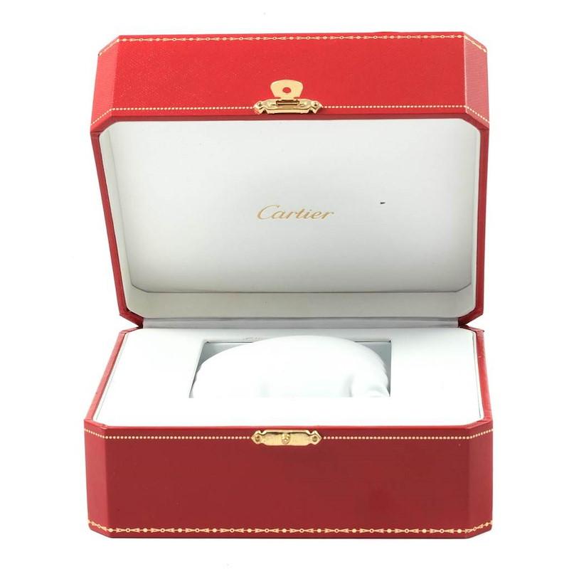 Cartier Ballon Bleu Mens Stainless Steel Automatic Watch W69012Z4 SwissWatchExpo