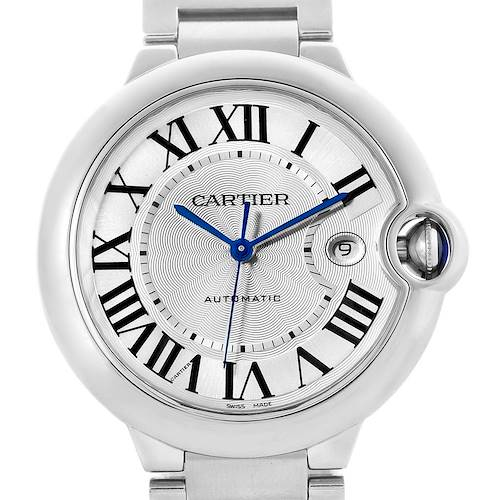 Photo of Cartier Ballon Bleu Mens Stainless Steel Automatic Watch W69012Z4