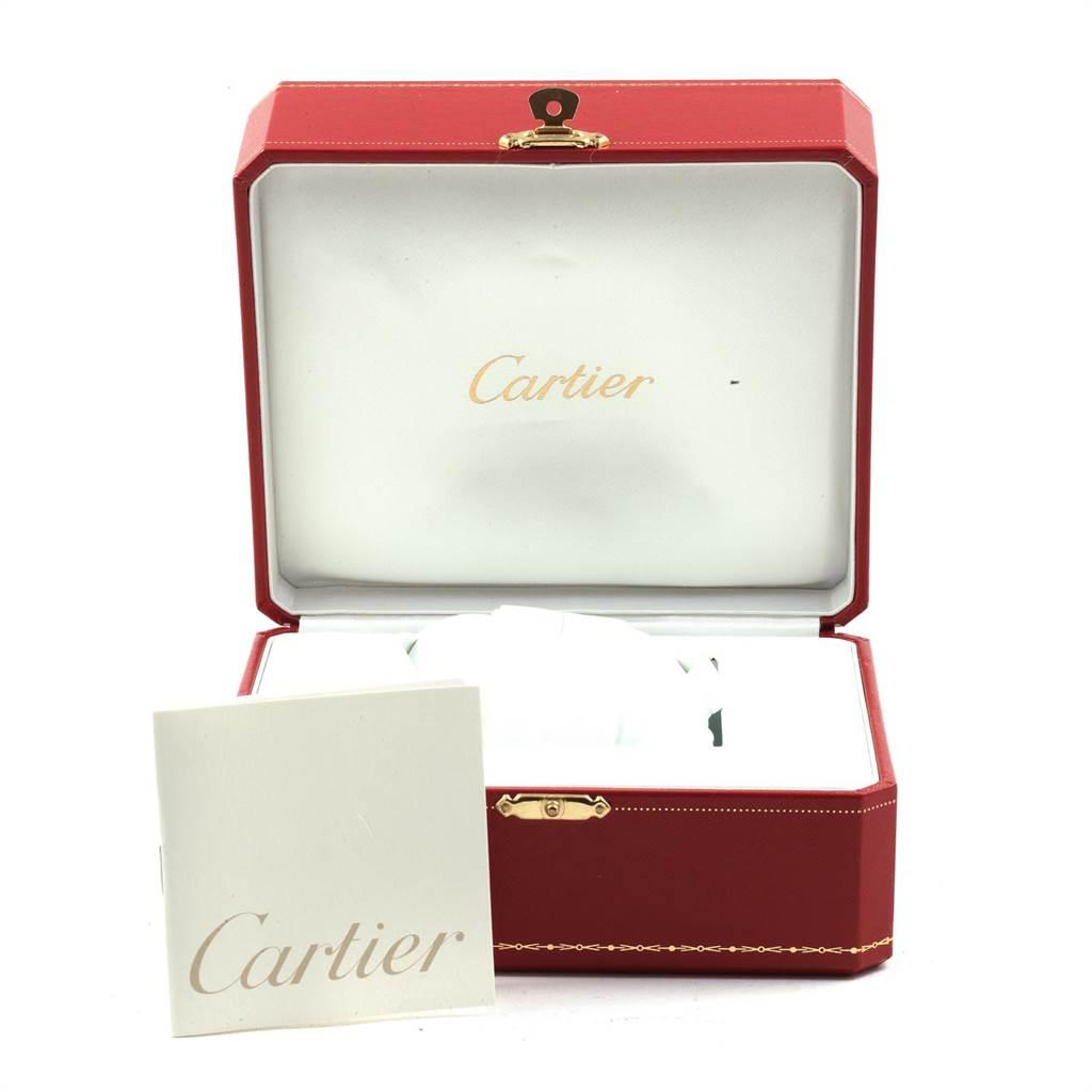 21531 Cartier Ballon Bleu XL Silver Dial Chronograph Steel Mens Watch W6920002 SwissWatchExpo