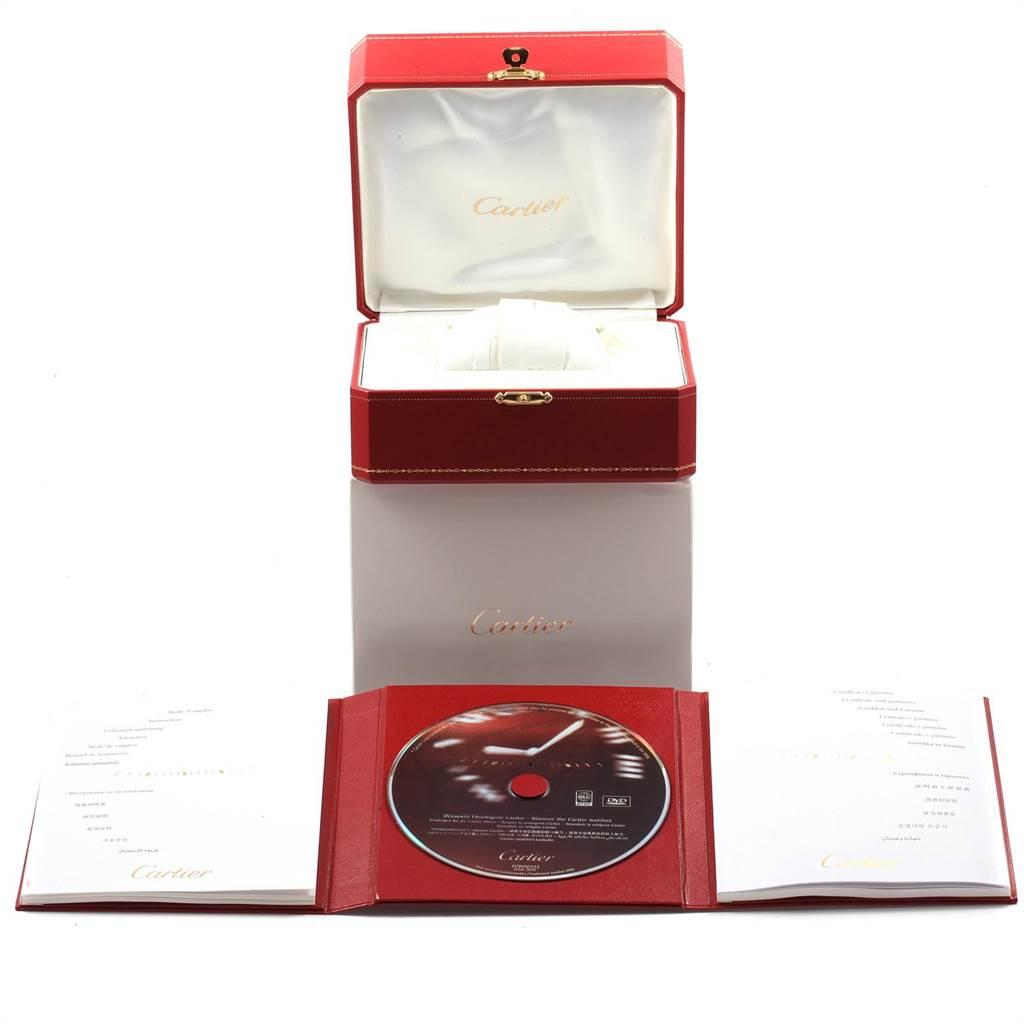 21719 Cartier Ballon Bleu 42 Steel Automatic Mens Watch W69012Z4 Box Papers SwissWatchExpo