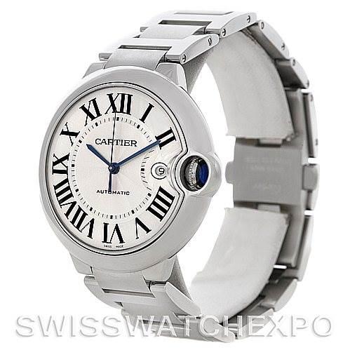 Cartier Ballon Bleu Steel Men's Watch W69012Z4 SwissWatchExpo