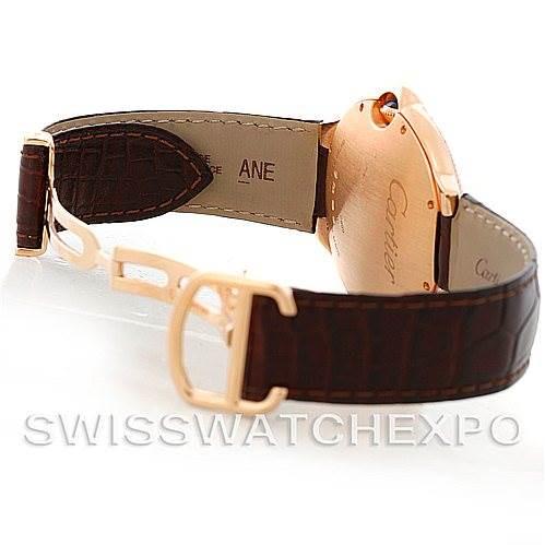 Cartier Ballon Bleu 18K Rose Gold Diamond Men's Watch W6900651 SwissWatchExpo