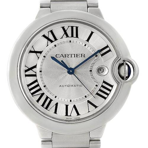 Photo of Cartier Ballon Bleu Steel Mens Watch W69012Z4
