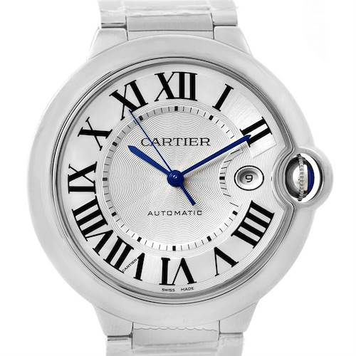 Photo of Cartier Ballon Bleu Mens Steel Watch W69012Z4 Unworn