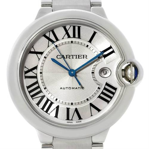 Photo of Cartier Ballon Bleu Mens Stainless Steel Watch W69012Z4