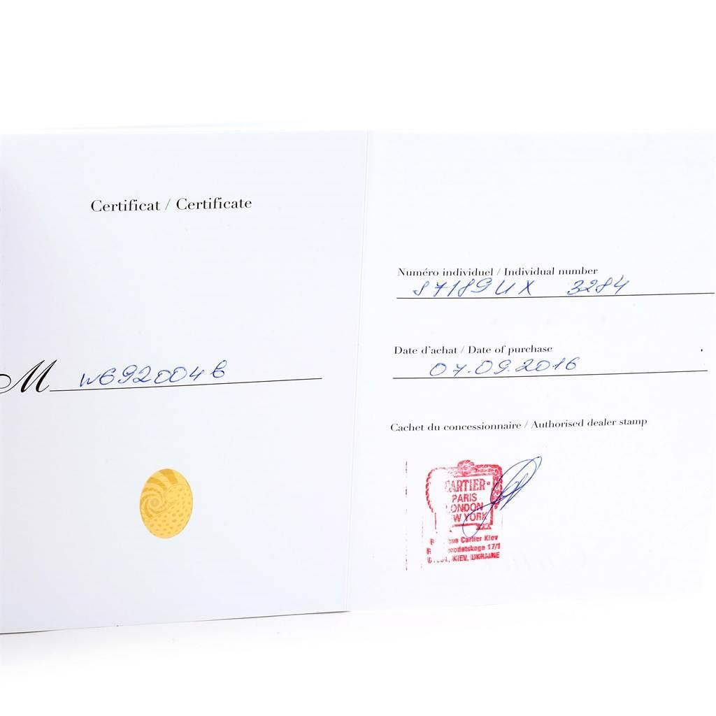 13207 Cartier Ballon Bleu Steel Midzize Ladies Watch W6920046 Box Papers SwissWatchExpo