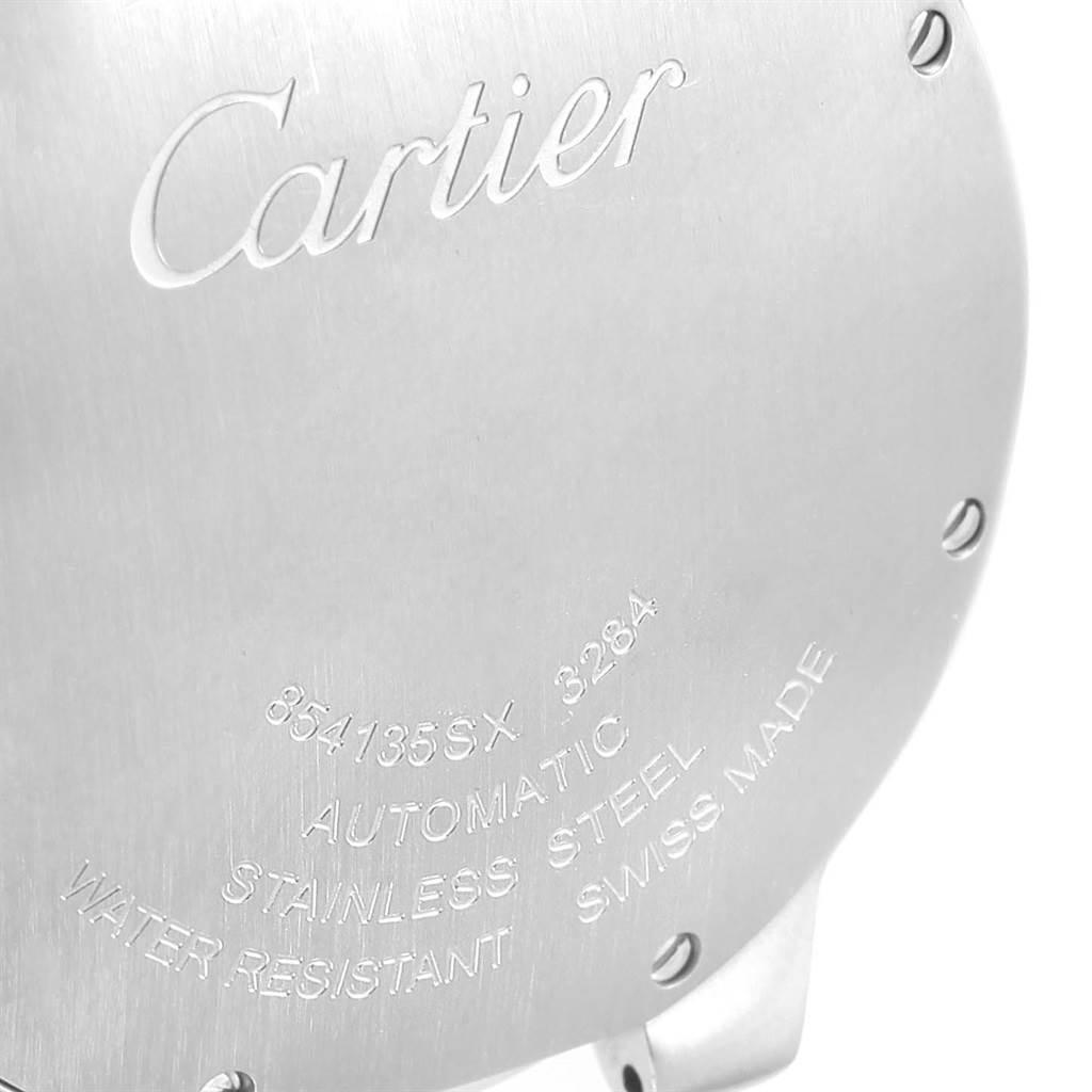 13151 Cartier Ballon Bleu Automatic Stainless Steel Watch W69017Z4 SwissWatchExpo