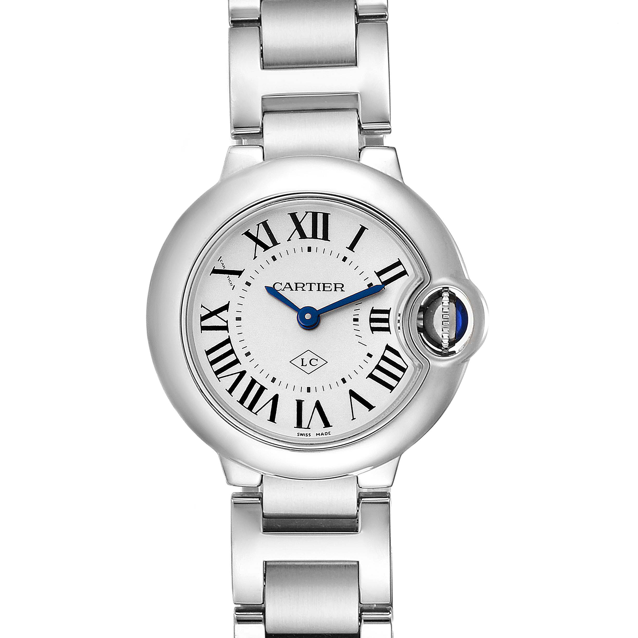 Cartier Ballon Bleu Stainless Steel Small Ladies Watch W69010Z4