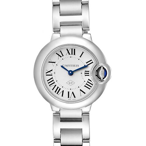 Photo of Cartier Ballon Bleu Stainless Steel Small Ladies Watch W69010Z4